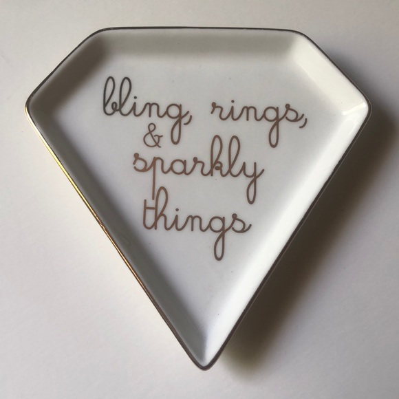 Rings and other sparkly things Ring Dish